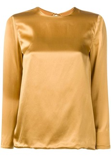 Marques' Almeida back tie fastened blouse
