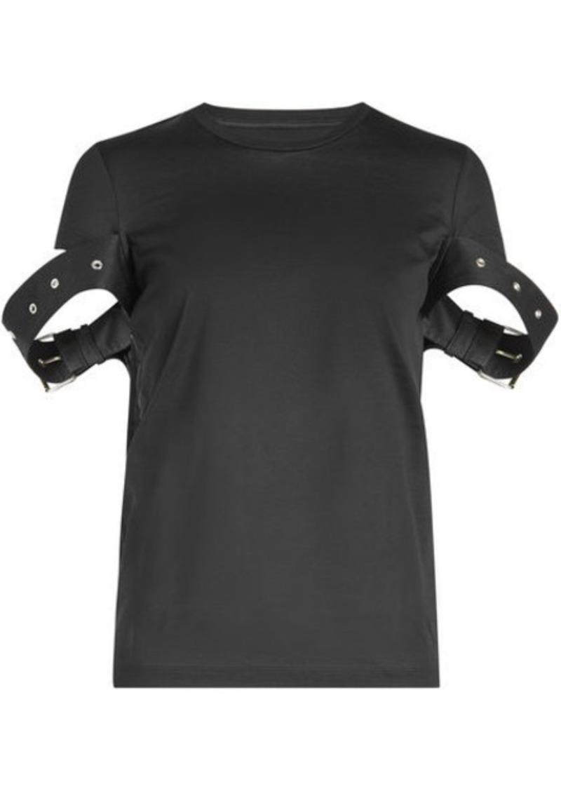 Marques' Almeida Belt Sleeve Cotton T-Shirt