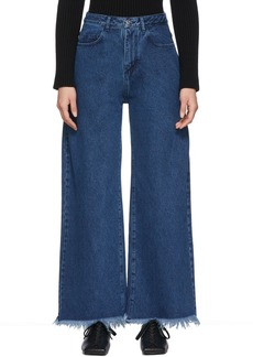 Marques' Almeida Blue Boyfriend Jeans