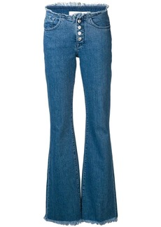 Marques' Almeida button-up flared jeans