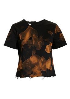 Marques' Almeida Cap Sleeve Bleached T-Shirt