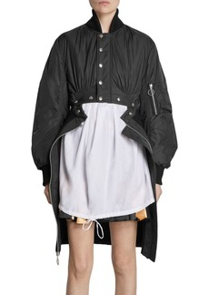 Marques' Almeida Convertible Cropped Bomber Jacket
