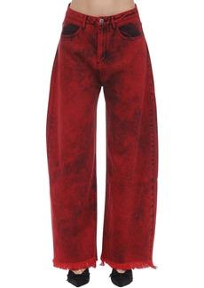 Marques' Almeida Cotton Denim Boyfriend Jeans
