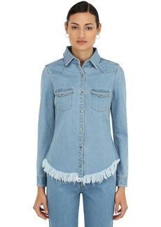 Marques' Almeida Fitted Cowboy Cotton Denim Shirt