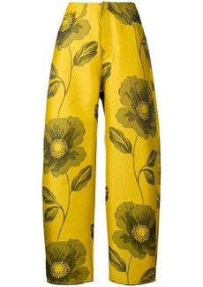 Marques' Almeida floral printed trousers