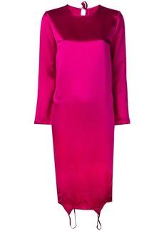 Marques' Almeida fuchsia shift dress