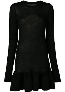 Marques' Almeida heart cut-out dress