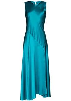 Marques' Almeida lace-up maxi dress