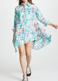 Marques' Almeida Marques Almeida Asymmetrical Shirt Dress