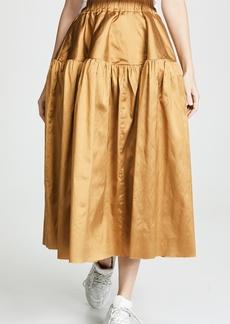 Marques' Almeida Marques Almeida Gathered Full Skirt