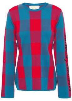 Marques' Almeida Woman Jacquard-knit Sweater Red