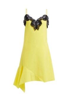 Marques' Almeida Marques'Almeida Asymmetric cotton-poplin dress
