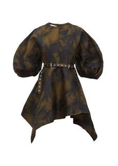 Marques' Almeida Marques'Almeida Asymmetrical belted mini dress