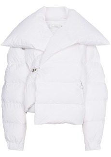 Marques' Almeida Marques'almeida feather down short puffer jacket - White