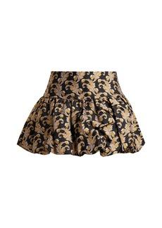 Marques' Almeida Marques'Almeida Foliage-jacquard mini skirt