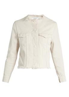Marques' Almeida Marques'Almeida Frayed-edge denim jacket