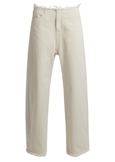 Marques' Almeida Marques'Almeida Frayed-edge wide-leg jeans