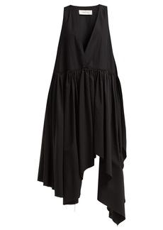 Marques' Almeida Marques'Almeida Handkerchief-hem taffeta dress