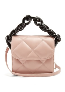 Marques' Almeida Marques'Almeida Oversized curb-chain quilted leather shoulder bag