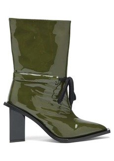 Marques' Almeida Marques'Almeida Patent-leather boots