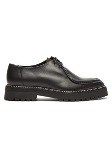 Marques' Almeida Marques'Almeida Point-toe leather creepers