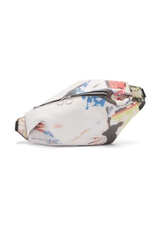 Marques' Almeida Marques'Almeida Poster-print leather belt bag