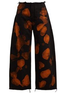 Marques' Almeida Marques'Almeida Tie-dye wide-leg boyfriend jeans