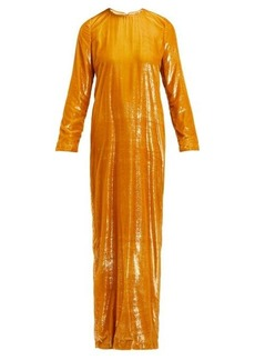 Marques' Almeida Marques'Almeida Tinsel maxi dress