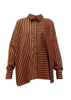 Marques' Almeida Marques'Almeida Two-way striped-cotton shirt