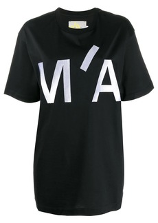 Marques' Almeida oversized front logo T-shirt