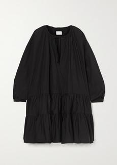 Marques' Almeida Oversized Tiered Organic Cotton-poplin Dress