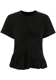 Marques' Almeida panelled gathered T-shirt