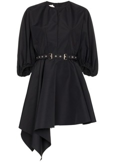 Marques' Almeida puff-sleeve belted mini-dress