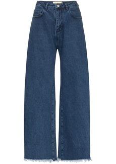 Marques' Almeida raw-hem boyfriend jeans