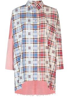 Marques' Almeida reM'Ade patchwork shirt