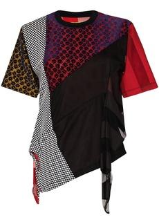 Marques' Almeida reM'Ade patchwork T-shirt