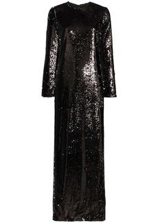 Marques' Almeida sequinned maxi dress
