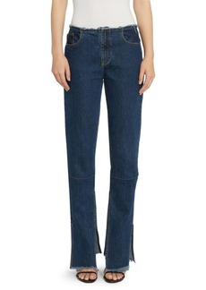 Marques' Almeida Slim-Fit Split Hem Jeans