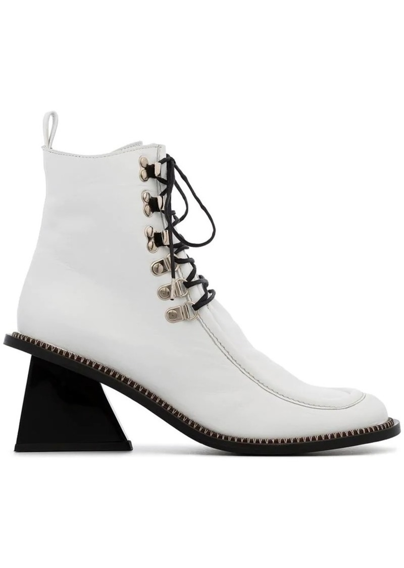 Marques' Almeida square toe lace up boots