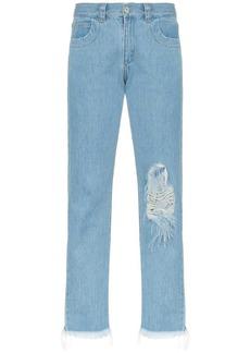 Marques' Almeida straight-leg ripped jeans