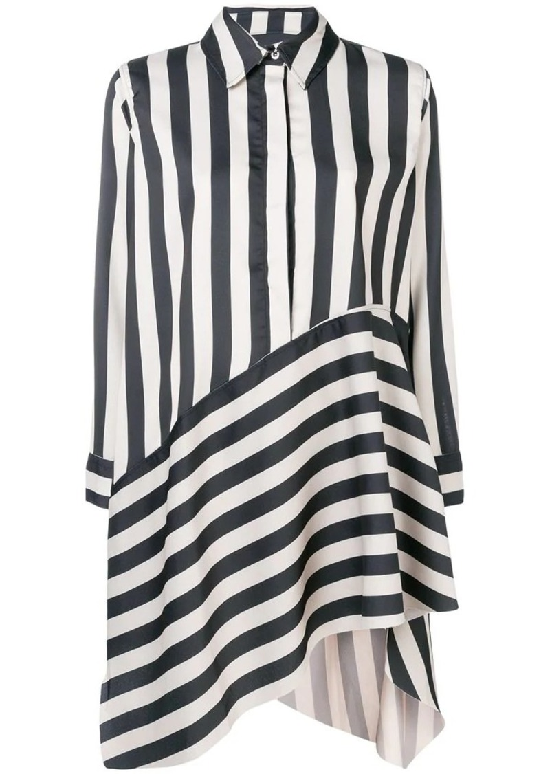 9649ffe7a234 Marques' Almeida striped asymmetric shirt dress | Dresses