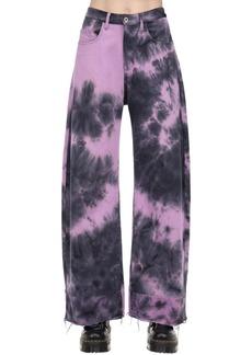 Marques' Almeida Tie Dye Cotton Denim Boyfriend Jeans