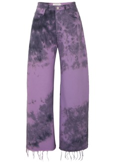 Marques' Almeida Tie-dyed Jeans