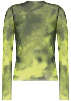 Marques' Almeida tie-dye mesh top