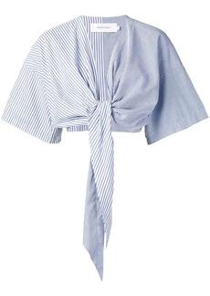 Marques' Almeida tie front blouse