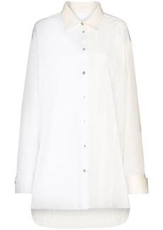 Marques' Almeida two-tone oversized shirt