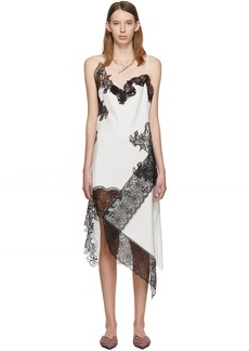Marques' Almeida White Lace Slip Dress