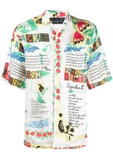 Martine Rose Ackee print shirt