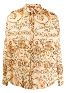 Martine Rose baroque print shirt