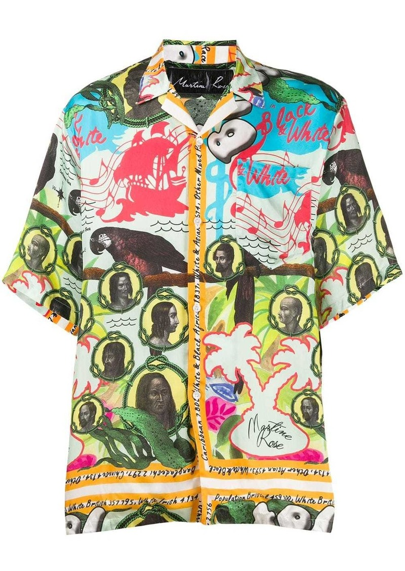 Martine Rose Bristol family tree shirt